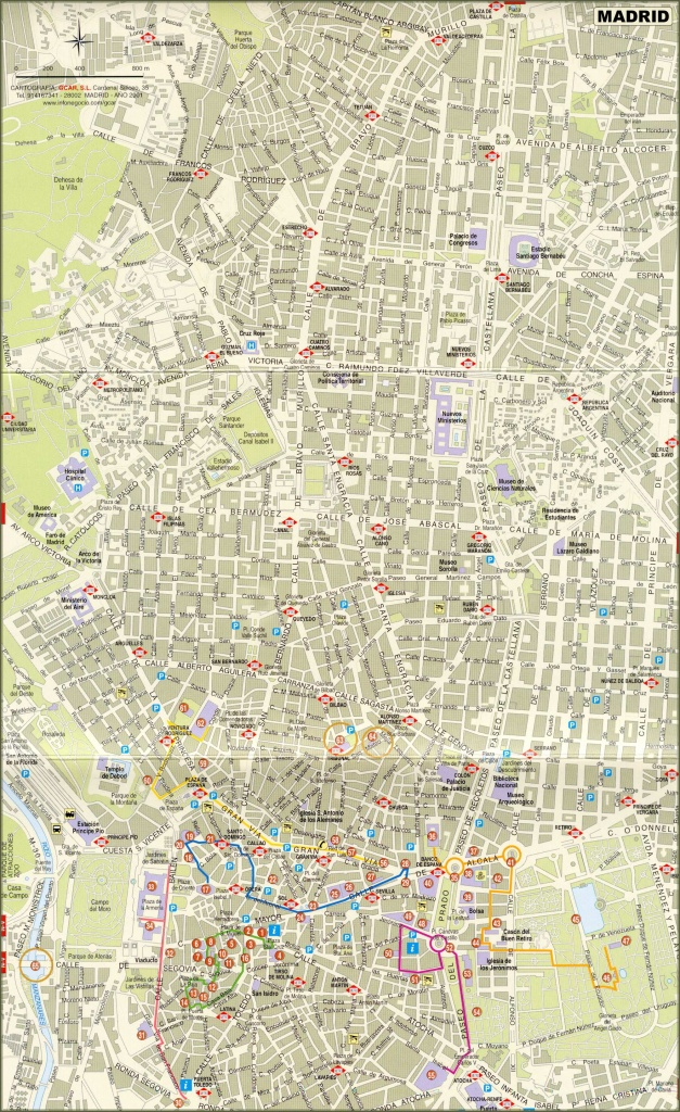 Large Madrid Maps For Free Download And Print | High-Resolution And - Madrid City Map Printable