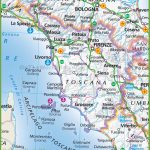 Large Map Of Tuscany   Printable Map Of Tuscany