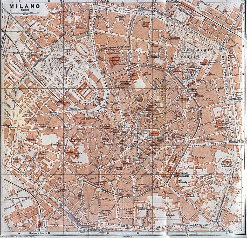 Large Milan Maps For Free Download And Print | High-Resolution And - Printable Map Of Milan City Centre