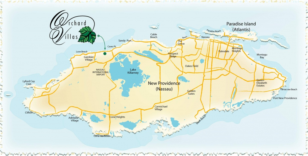 Large Nassau Maps For Free Download And Print | High-Resolution And - Printable Map Of Nassau Bahamas