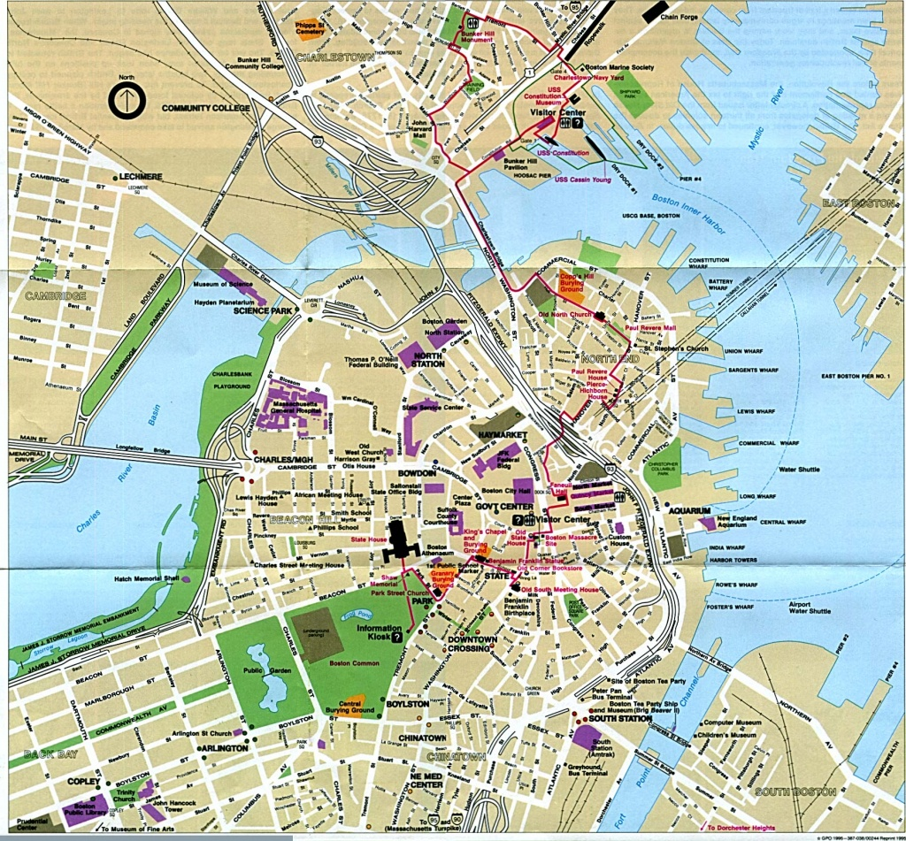 Large Printable Boston Maps | World Map Photos And Images - Printable Local Street Maps