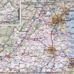 Large Printable Map Of Virginia – Orek   Large Printable Map