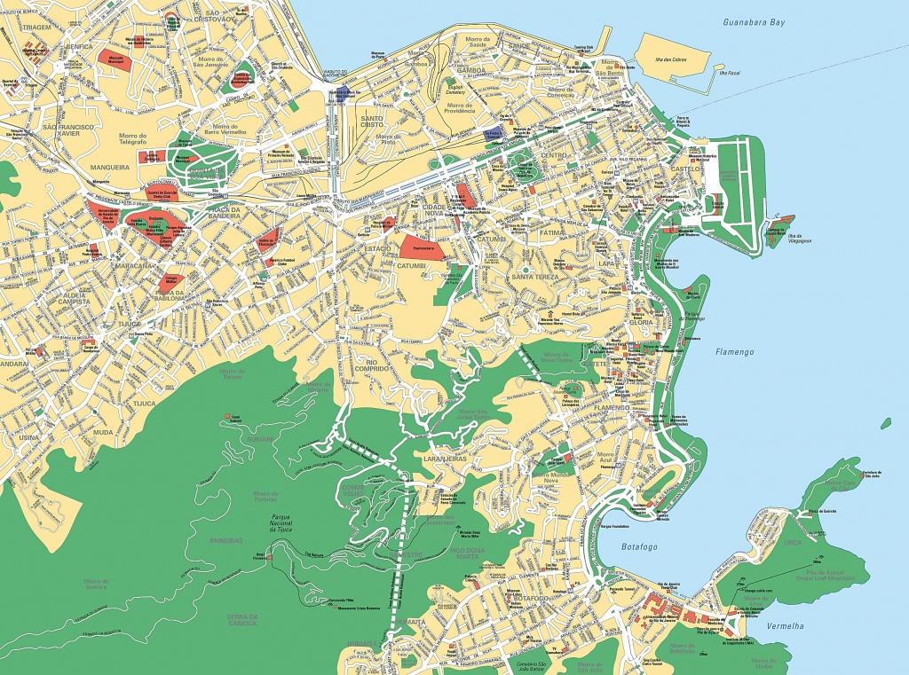 Large Rio De Janeiro Maps For Free Download And Print   High - Printable Map Of Rio De Janeiro