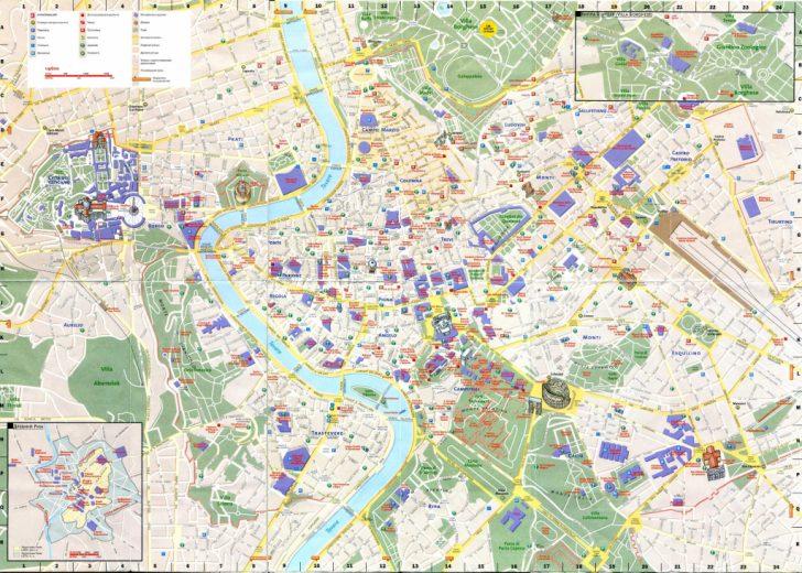 Printable Street Map Of Sorrento Italy