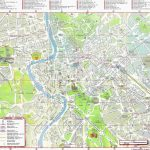 Large Rome Maps For Free Download And Print   High Resolution And   Printable Street Maps Free