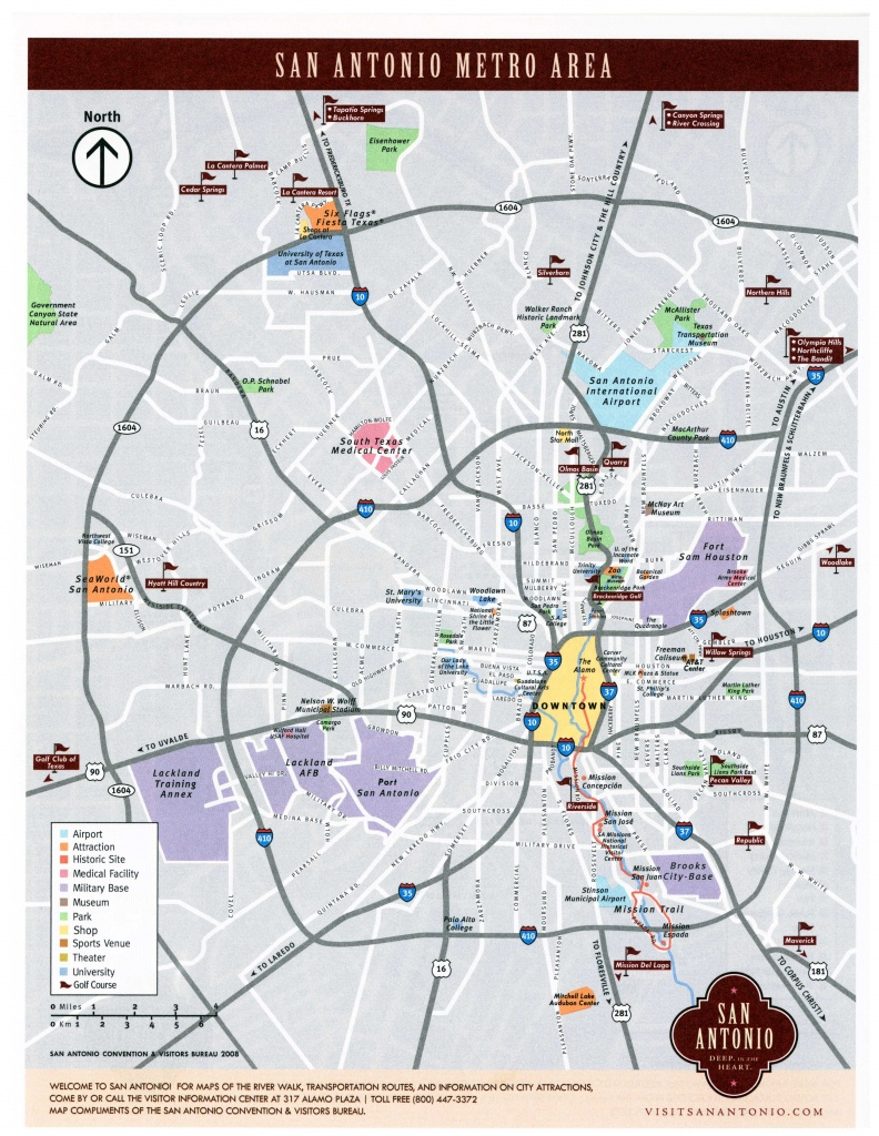 Large San Antonio Maps For Free Download And Print | High-Resolution - Map Of San Antonio Texas And Surrounding Area