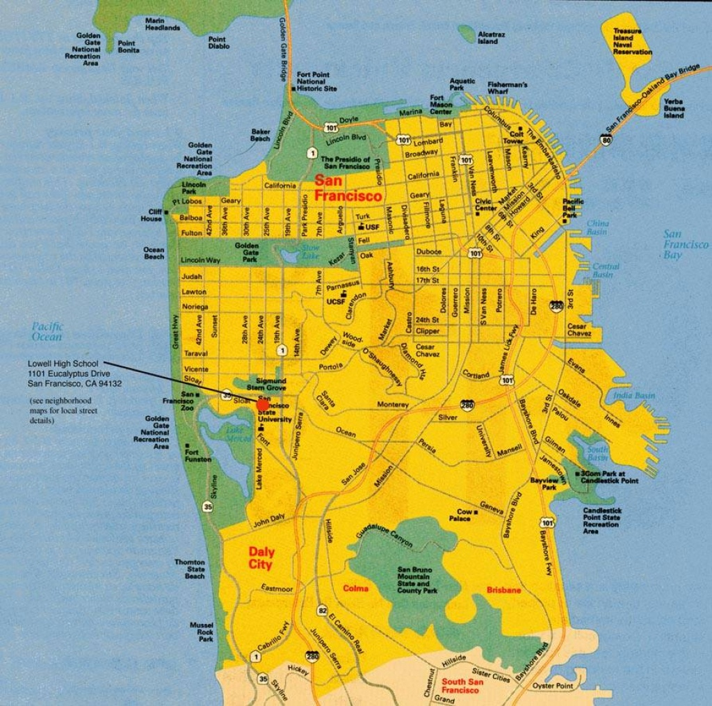 Large San Francisco Maps For Free Download And Print | High - Printable Map Of San Francisco Bay Area