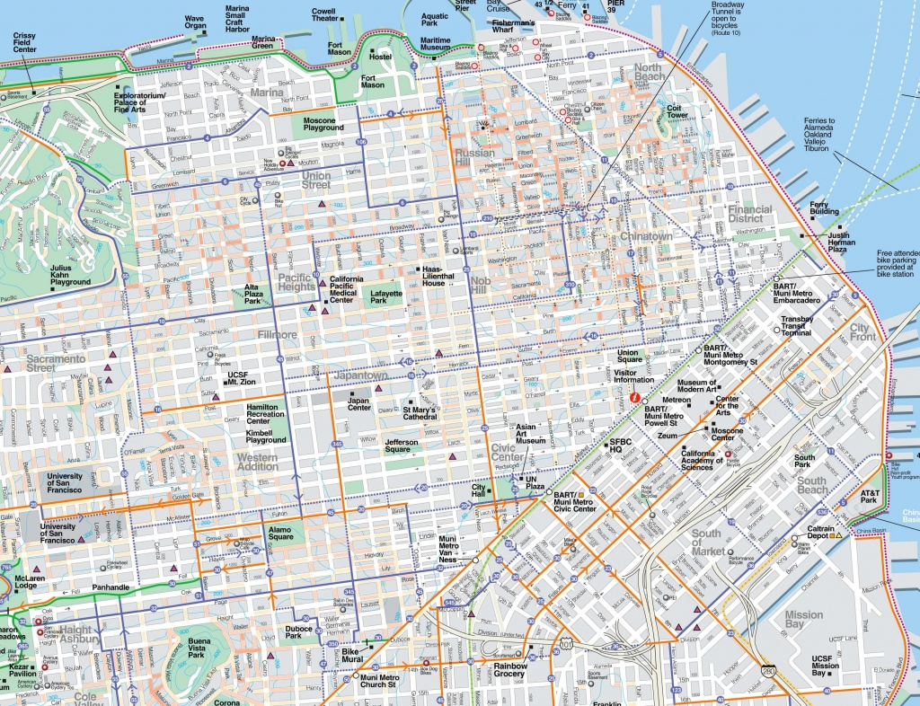 Large San Francisco Maps For Free Download And Print | High - Printable Map Of San Francisco