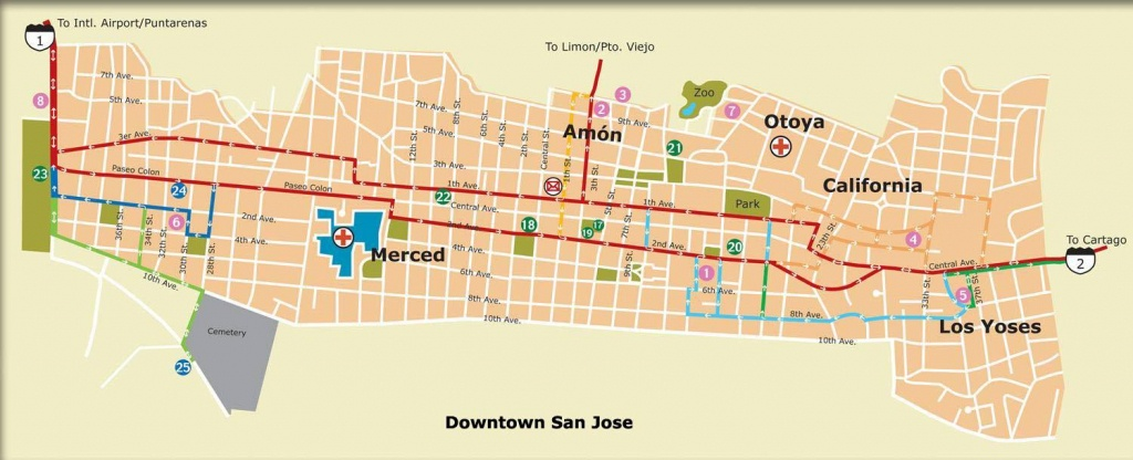 Large San Jose Maps For Free Download And Print | High-Resolution - Printable Map Of San Jose