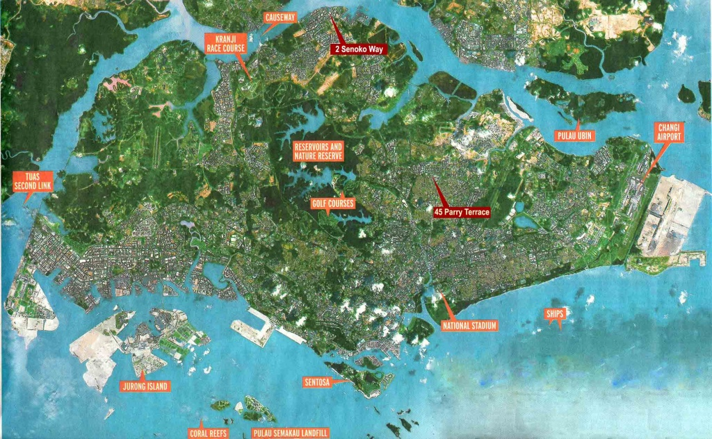 Large Singapore City Maps For Free Download And Print   High - Free Printable Satellite Maps