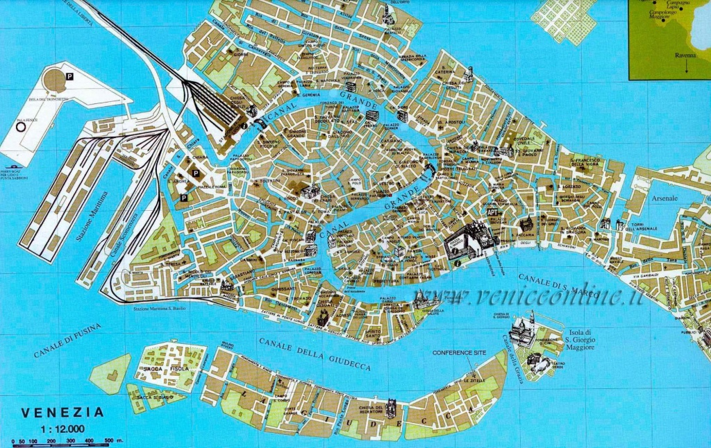 Large Venice Maps For Free Download And Print | High-Resolution And - Venice City Map Printable