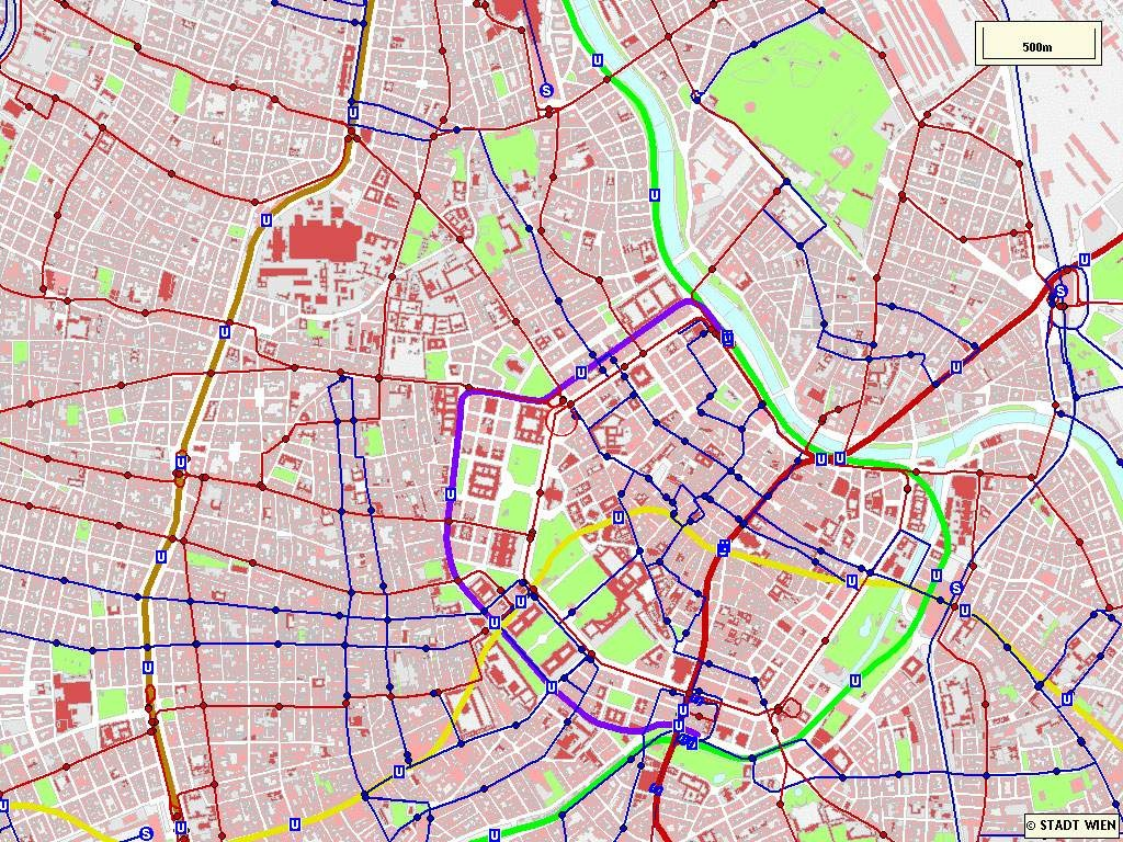 Large Vienna Maps For Free Download And Print   High-Resolution And - Vienna Tourist Map Printable