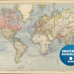 Large World Map Hd Hq Free Downloading 19 Downloadable Maps   Free Printable Large World Map Poster