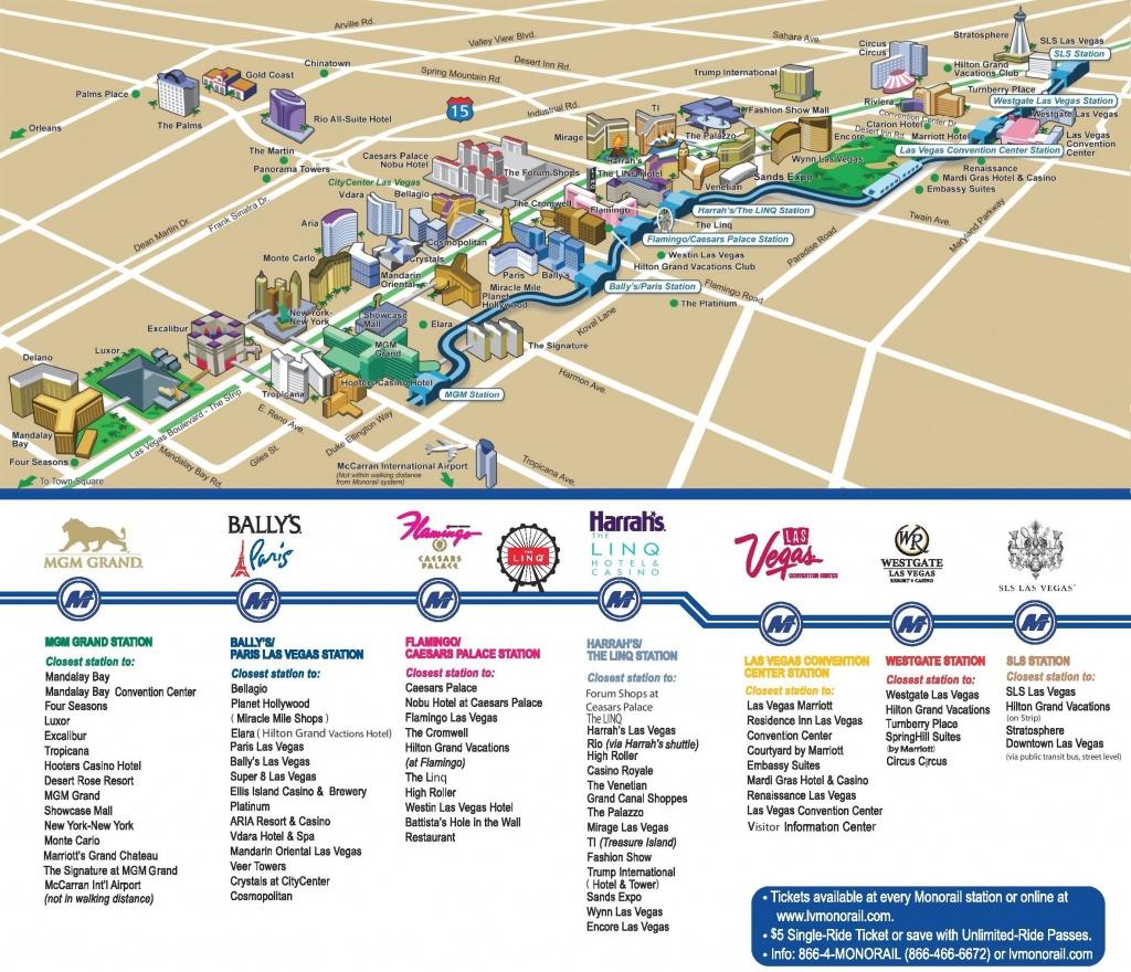 Las Vegas Strip Hotels And Casinos Map   Las Vegas In 2019   Las - Map Of Las Vegas Strip Hotels Printable