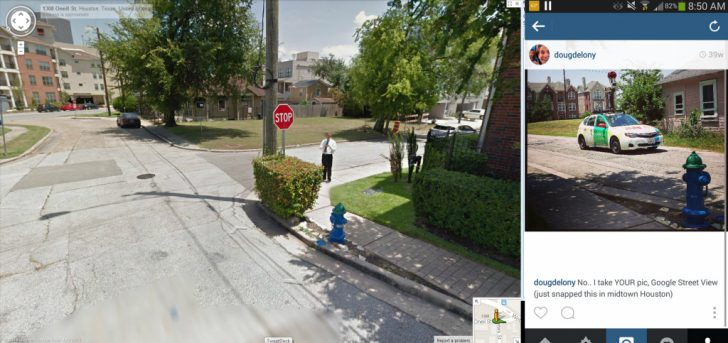 Google Maps Street View Houston Texas