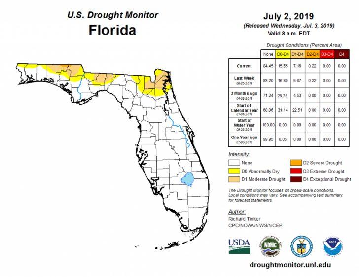 Florida Heat Index Map
