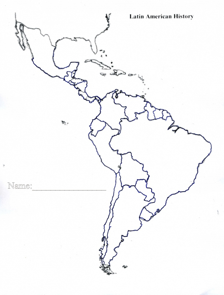 free printable map of north and south america | Printable Maps