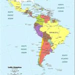 Latin America Map Printable Spanish Speaking Countries And Their   Printable Map Of Spanish Speaking Countries