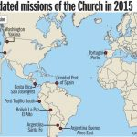 Lds Church Announces 11 New Missions, 2015 Mission President   California Lds Missions Map