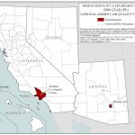 Lead, Maps, Air Quality Analysis | Pacific Southwest | Us Epa   Southern California Air Quality Map