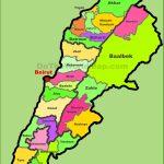 Lebanon Maps | Maps Of Lebanon   Printable Map Of Lebanon