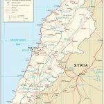 Lebanon Maps   Perry Castañeda Map Collection   Ut Library Online   Printable Map Of Lebanon