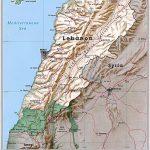 Lebanon Maps | Printable Maps Of Lebanon For Download   Printable Map Of Lebanon