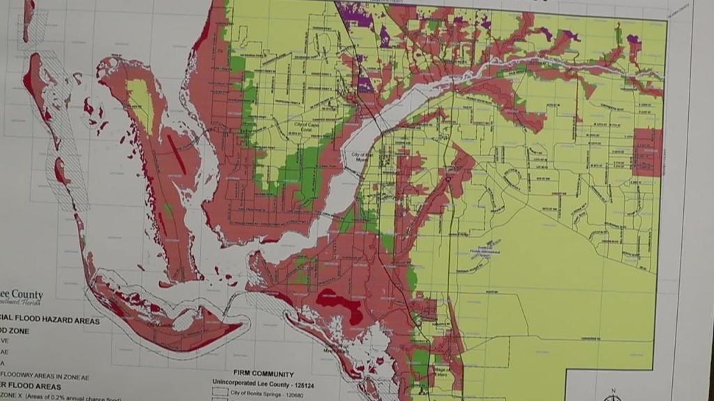Lee County Urges Head Start On Hurricane Season - Cape Coral Florida Flood Zone Map