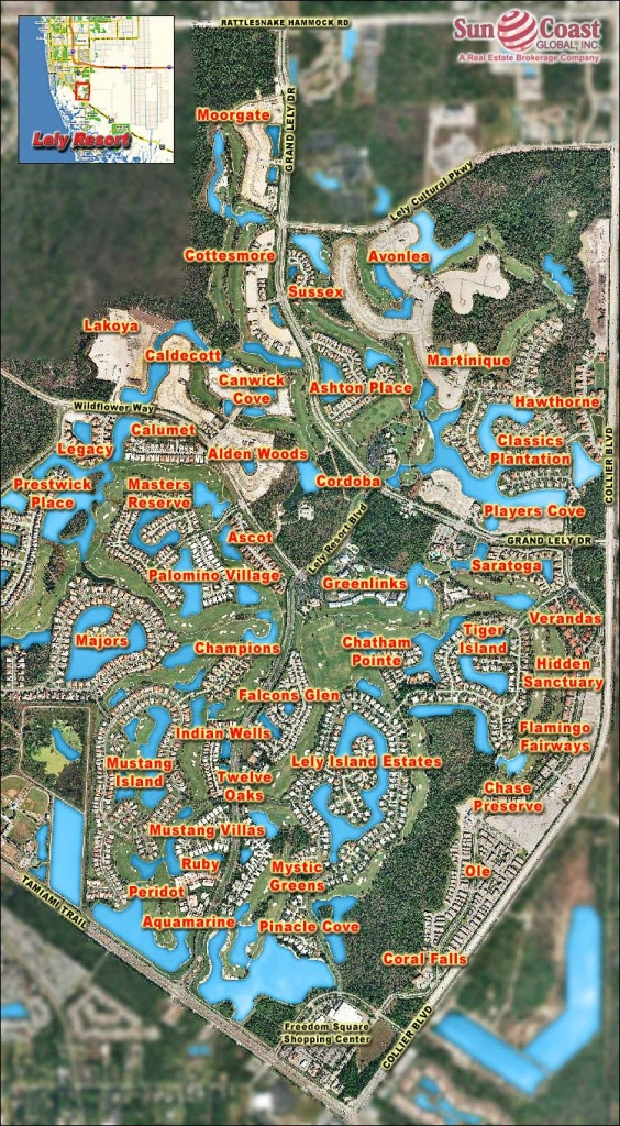 Legacy At Lely Resort Real Estate Naples Florida Fla Fl - Lely Florida Map