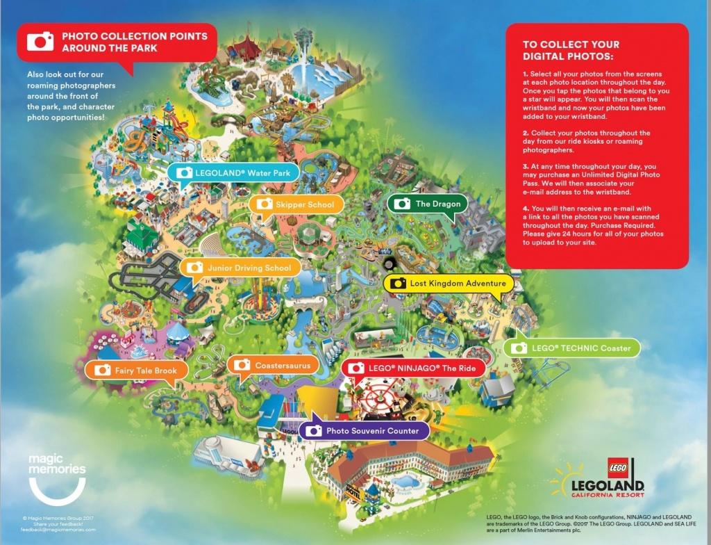 Lego Shopping Options | Legoland California Resort Within Legoland - Legoland Map California 2018