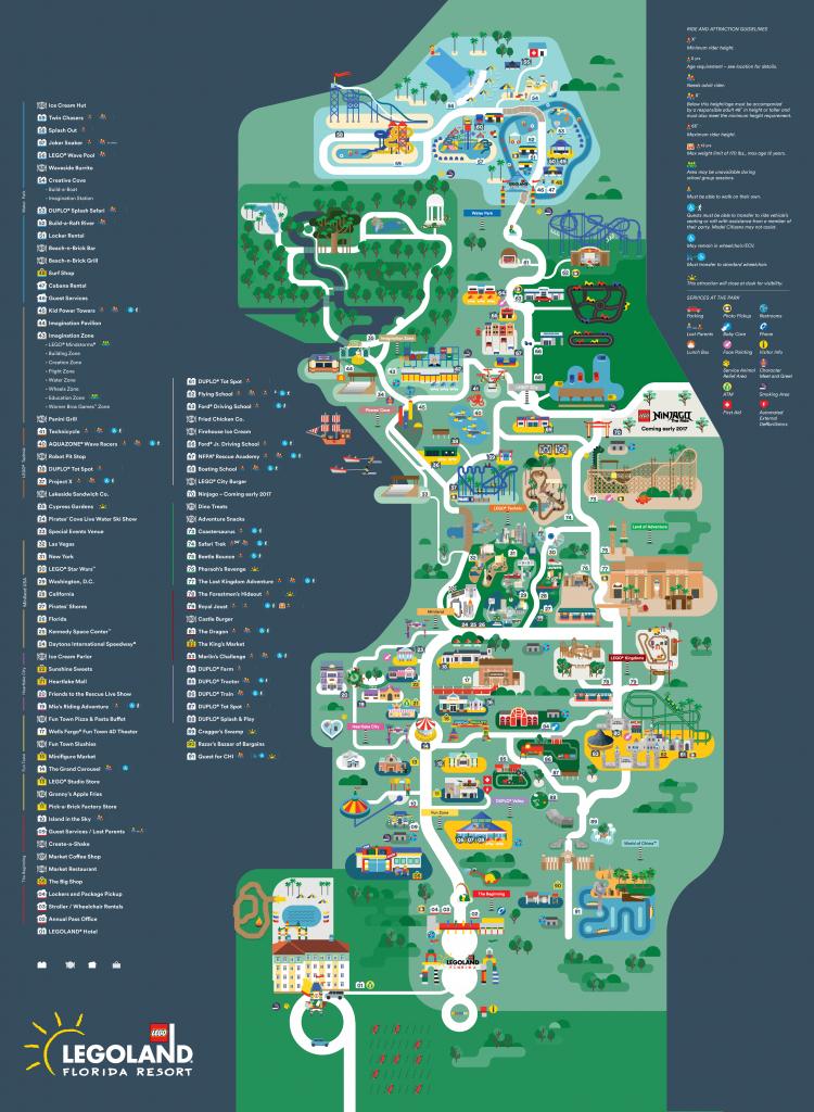 Legoland Florida Map 2016 On Behance   Disney, One Day, Maybe - Florida Map Hotels