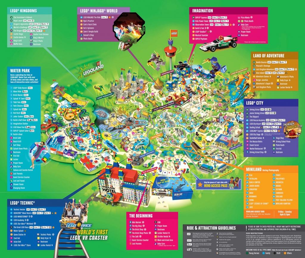 Legoland® Malaysia Rides - Legoland Map California 2018
