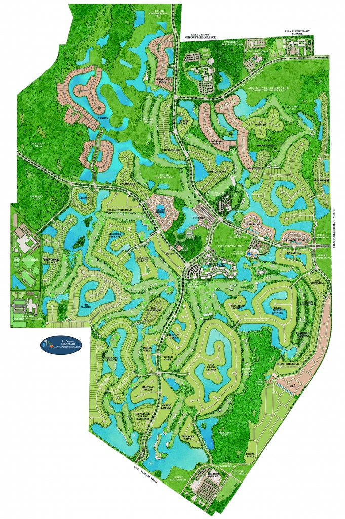 Lely Resort - Naples Florida - Lely Florida Map