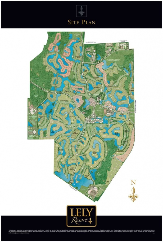 Lely Resort Neighborhoods   Find Your Dream Home In Lely Resort - Lely Florida Map