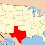 List Of Cities In Texaspopulation   Wikipedia   Map Of Texas Major Cities
