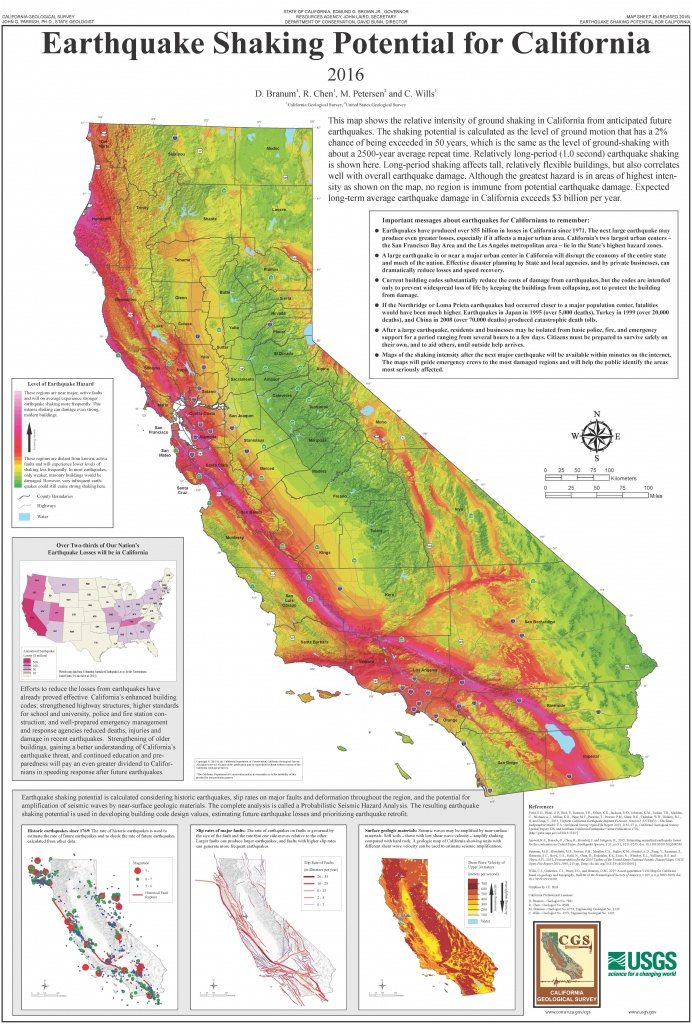 List Of Earthquakes In California - Wikipedia - Southern California Earthquake Map
