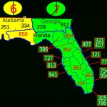 List Of Florida Area Codes   Wikipedia   Central Florida Zip Code Map