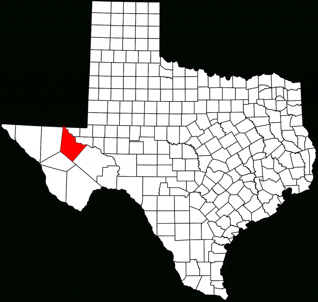 List Of Highways In Reeves County, Texas - Wikipedia - Reeves County Texas Map