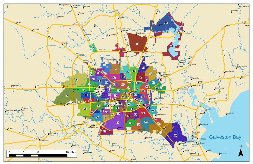 List Of Houston Neighborhoods - Wikipedia - Map Of Northwest Houston Texas