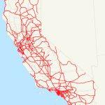 List Of Interstate Highways In California   Wikipedia   California Interstate Highway Map