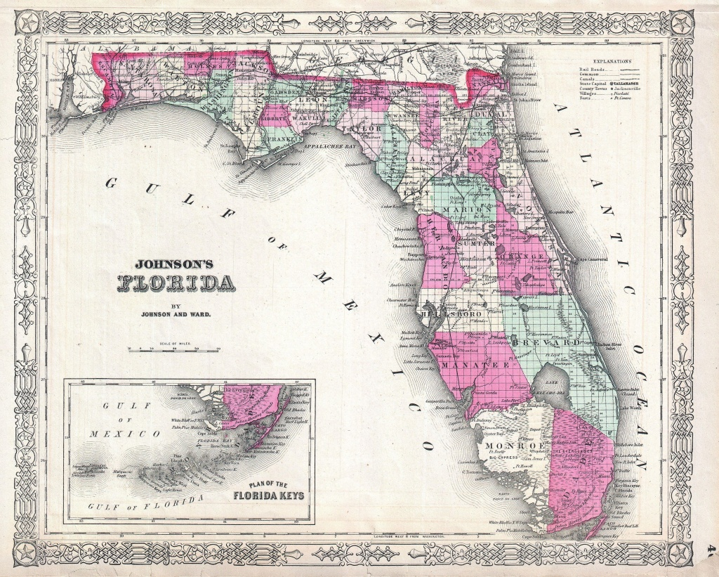 List Of Shipwrecks Of Florida - Wikipedia - Florida Map 1900