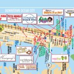 List Of Synonyms And Antonyms Of The Word: Ocean City Map   Printable Street Map Ocean City Nj