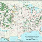 List Of U.s. National Forests   Wikipedia   California Forests Map