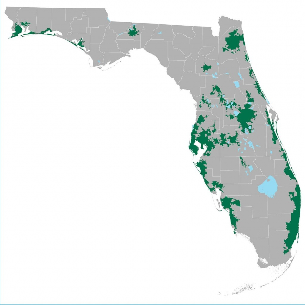 List Of Urbanized Areas In Florida (By Population) - Wikipedia - Map Of Panama City Florida And Surrounding Towns