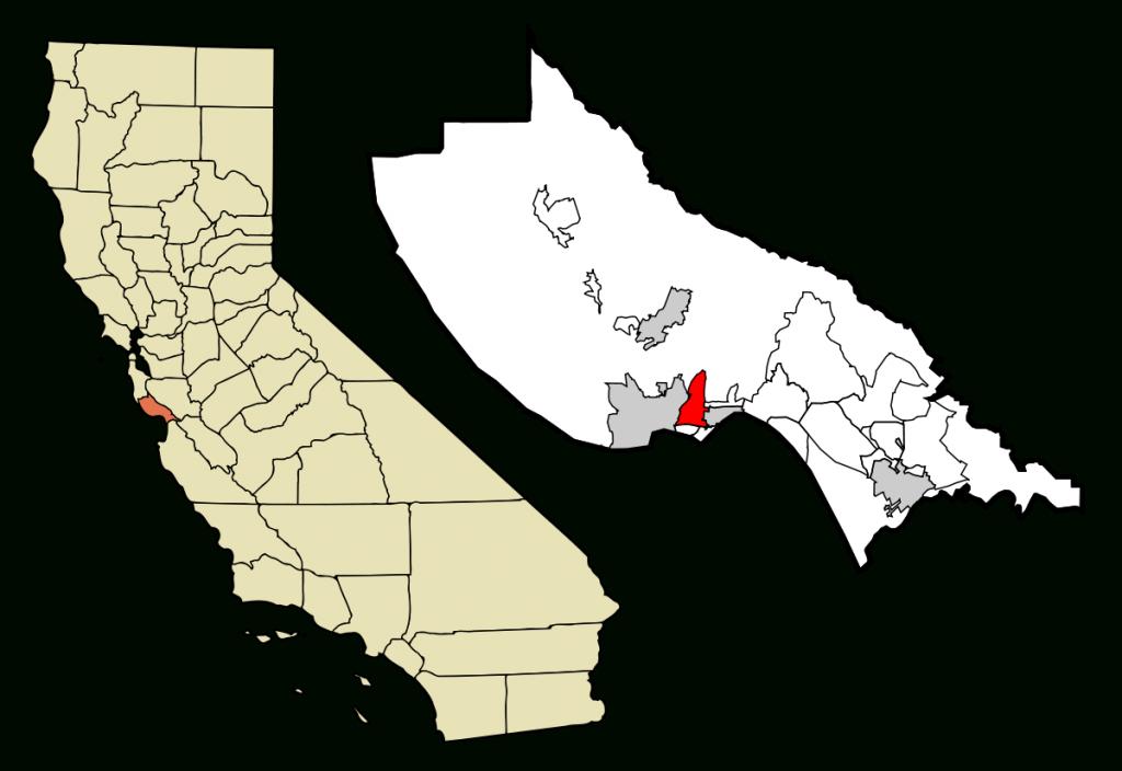 Live Oak, Santa Cruz County, California - Wikipedia - Where Is Santa Cruz California On The Map