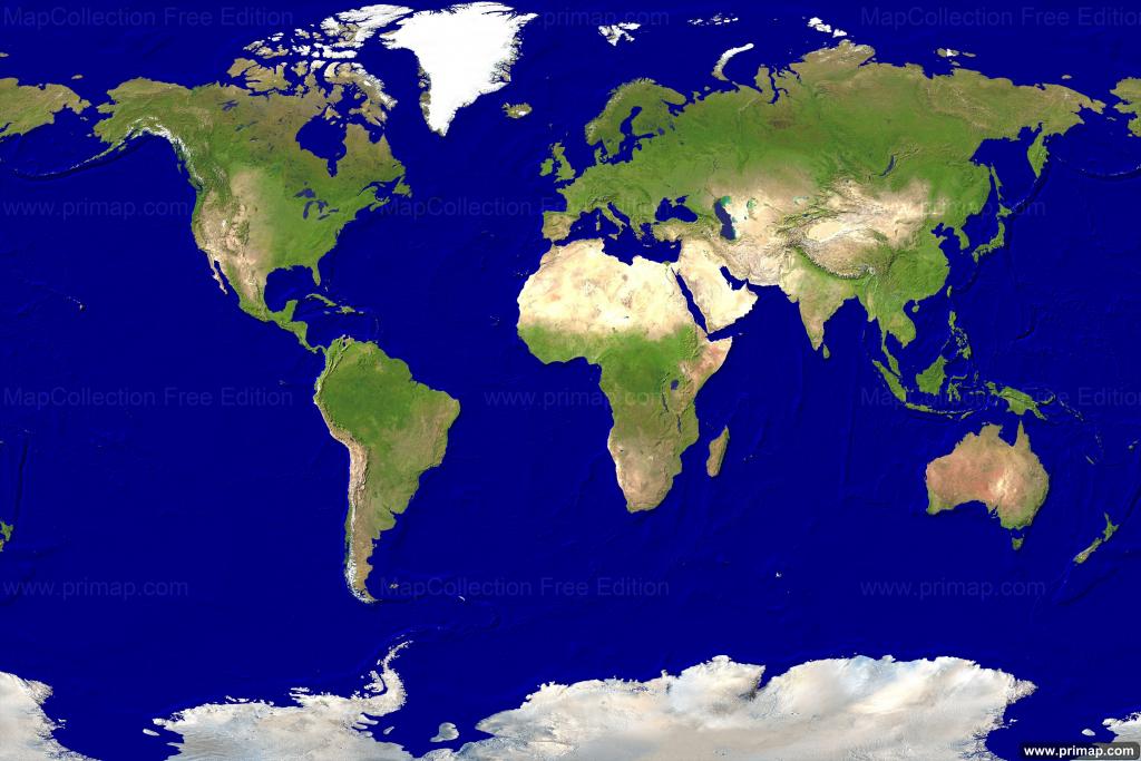 Live World Map | Sin-Ridt - Free Printable Satellite Maps