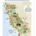 Livi Gosling   Map Of California National Parks   California Camping Sites Map