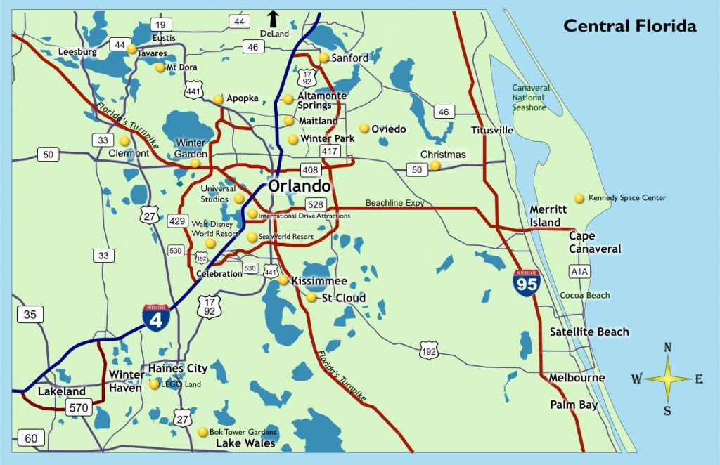 Location - Qgo Places - Central Florida Attractions Map