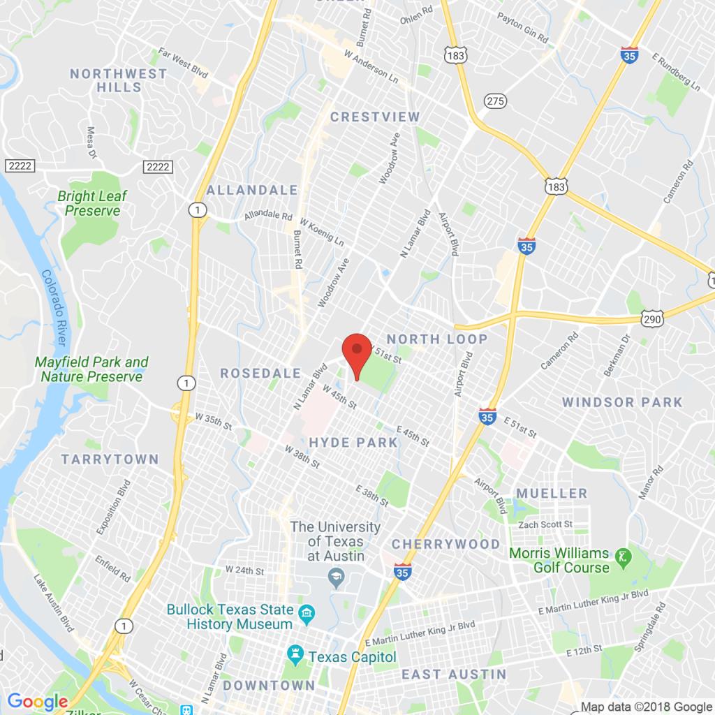 Locations - Orthopaedic Specialists Of Austin - Cedar Park Texas Map
