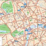 London Attractions Map Pdf   Free Printable Tourist Map London   Printable Street Map Of Central London